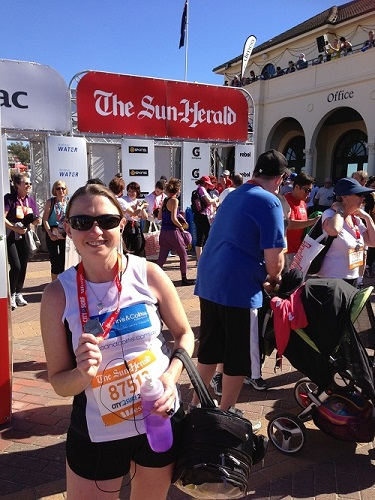 Rebecca participates in 14km City2Surf